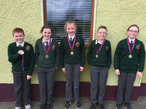 Con Houlihan writing competition Scartaglen Schools in Scartaglen Kerry